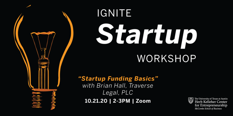 Ignite Startup Workshop: Startup Funding Basics